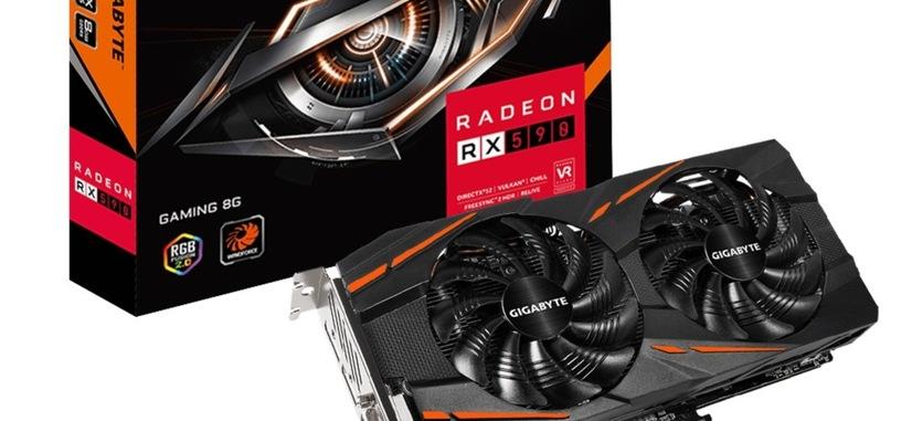 Gigabyte anuncia la Radeon RX 590 Gaming