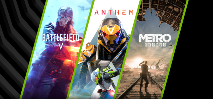Nvidia presenta el nuevo lote de juegos 'Triple diversión' por la compra de hasta una RTX 2080 Ti