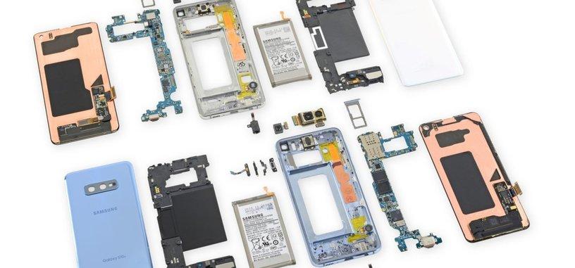 iFixit desmonta los Galaxy S10 y S10e
