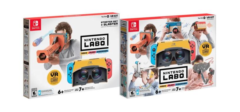 Nintendo presenta un producto de realidad virtual para la Switch