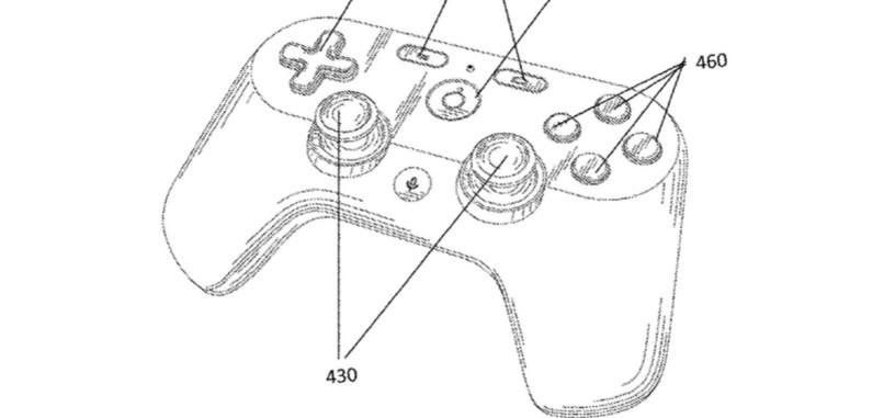 Una patente de Google apunta a cómo podría ser el mando para su servicio de retransmisión de juegos