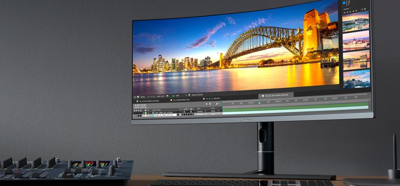 ASUS anuncia el ProArt PA34VC, monitor curvo de 34'' de 3440×1440 y 100 Hz