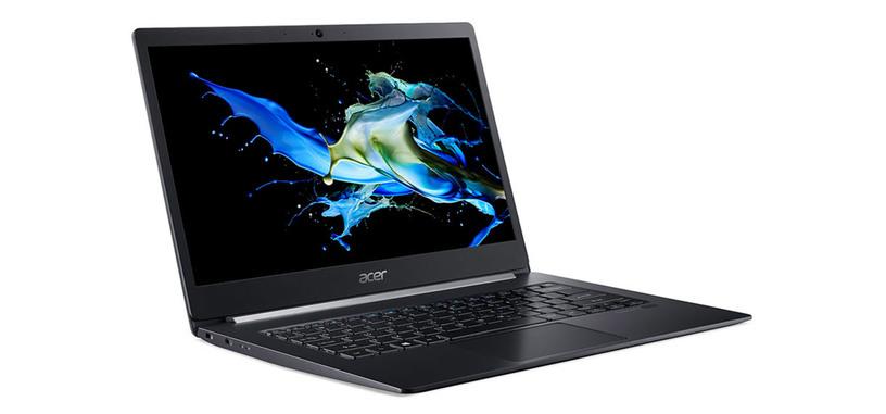 Acer presenta el ultraportátil TravelMate X514-51