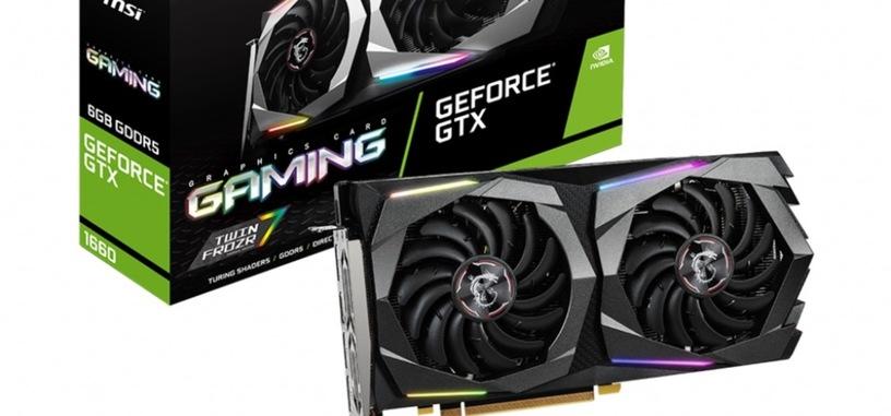 MSI anuncia ocho tarjetas personalizadas de la GTX 1660