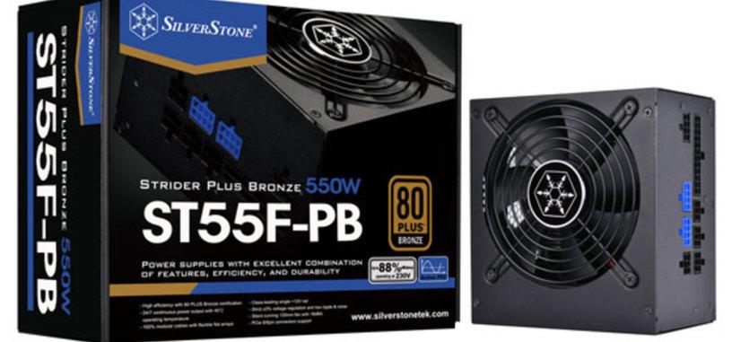 SilverStone anuncia la serie STF-PB de fuentes modulares 80 PLUS Bronze