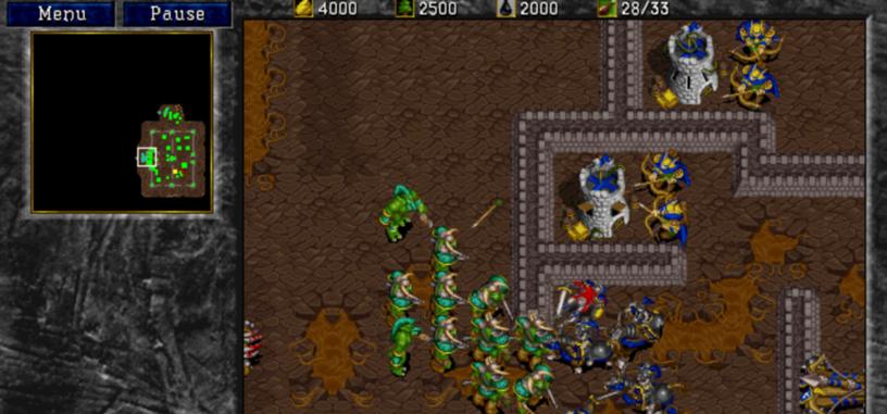Blizzard se une a GOG para relanzar 'WarCraft' y 'WarCraft 2'