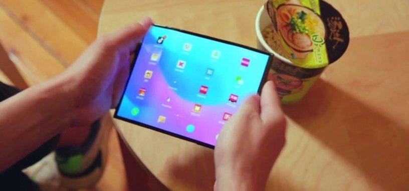 Un nuevo vídeo muestra el móvil de pantalla plegable que está preparando Xiaomi