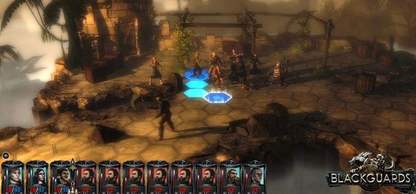 Blackguards, un nuevo juego de rol por turnos, llega a Steam para Windows y OS X