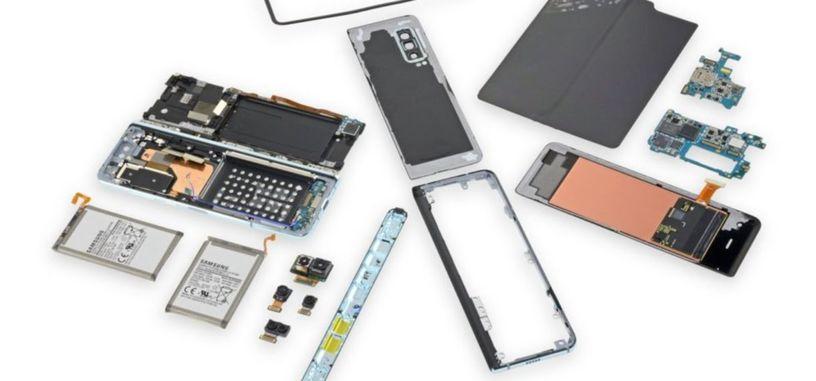 Samsung fuerza a iFixit a eliminar su despiece del Galaxy Fold que demostraba sus problemas