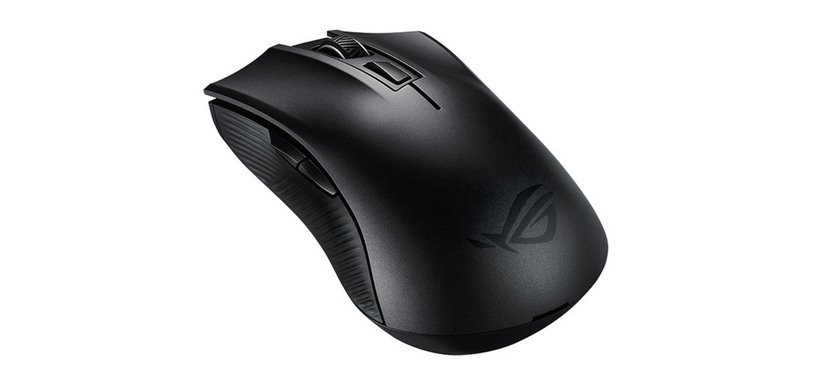 ASUS presenta el ratón ROG Strix Carry de pequeño tamaño y con Bluetooth