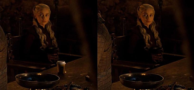 HBO elimina el vaso de café de Starbucks de 'Juego de tronos'