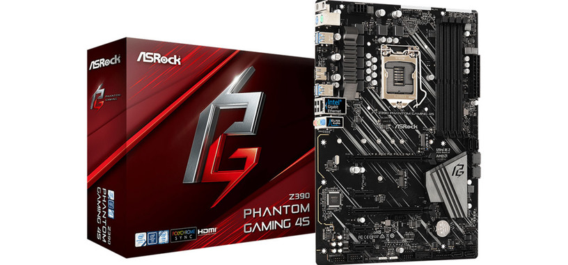 ASRock presenta la placa base Z390 Phantom Gaming 4S