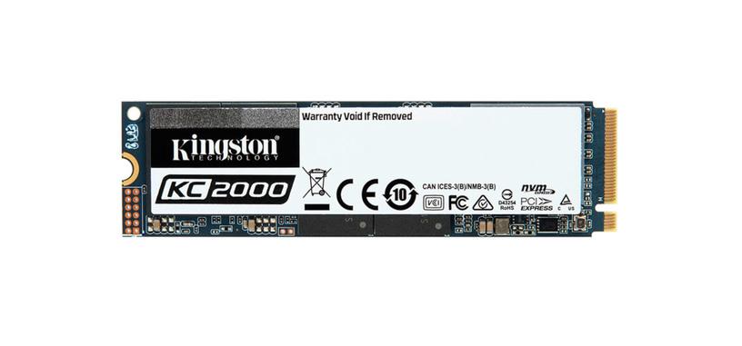 Kingston presenta la serie KC2000 de SSD de hasta 2 TB tipo PCIe