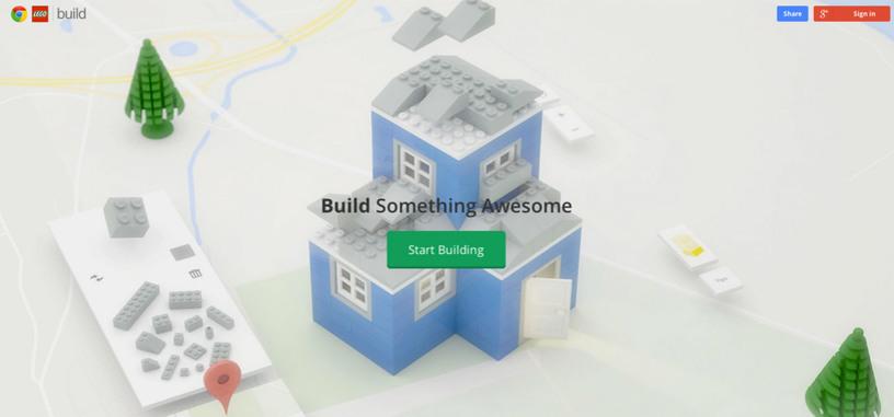 Desarrolla tus creaciones de Lego en el navegador Chrome desde una nueva web