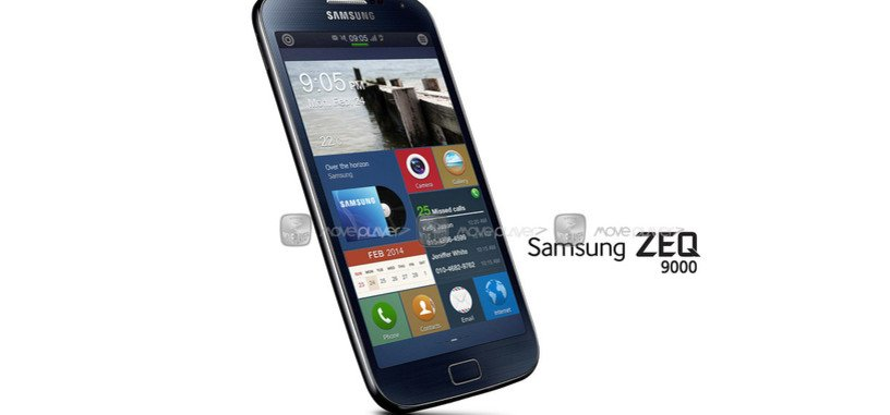 Samsung ZEQ 9000 sería el primer smartphone con Tizen, a presentarse en el MWC 2014