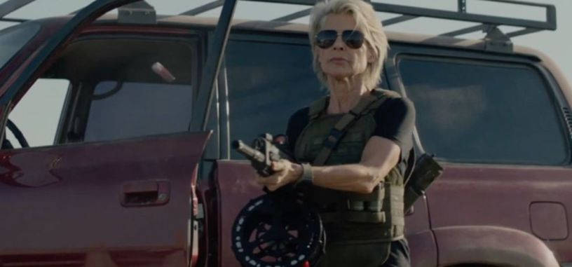 Linda Hamilton vuelve a la lucha en el primer tráiler de 'Terminator: Dark Fate'