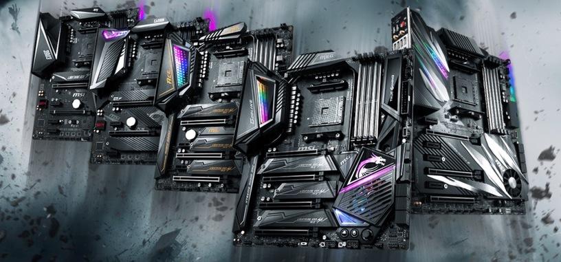 MSI y ASRock anuncian sus modelos de placas base X570