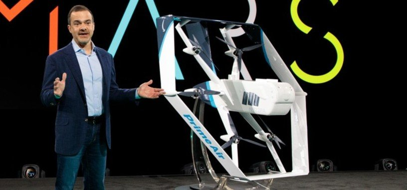 Amazon muestra su nuevo dron de reparto para Prime Air
