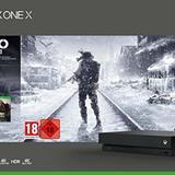 Microsoft Xbox One X - Consola 1 TB + Metro Exodus Collection