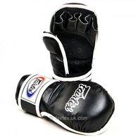 Fairtex MMA - Guantes de Boxeo (Talla L), Color Negro
