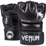 Venum ''Impact'' MMA Gloves, Black, Medium