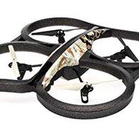 Parrot AR.Drone 2.0 Elite Edition Sand - Dron cuadricóptero (12 minutos de vuelo, cámara HD, 50 metros de alcance, pilotaje con Smartphone o Tablet)