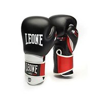 Leone 1947 - Guantes de Boxeo, Unisex, para Adulto, Color Negro, 14 oz