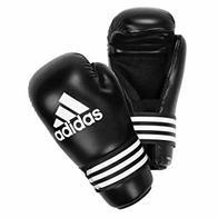 adidas Guantes Semi Contact Gloves, Negro/Gris, L, adiBFC01