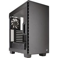 CORSAIR CARBIDE 400C Compact Mid-Tower Case - Clear Edition - Black