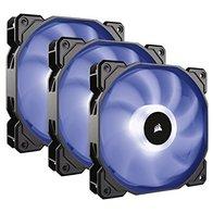 Corsair SP120 RGB - Ventilador de PC (120 mm, iluminación LED RGB), Paquete Triple con Controlador de iluminación