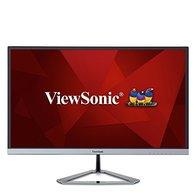 ViewSonic VX2276-SMHD - Monitor 21,5'' Full HD IPS (1920 x 1080, 4ms, 250 nits, 178°/178°, VGA/HDMI/DP, Altavoces, sin Marco), Color Negro/Plata