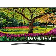 LG 49UK6470PLC - Smart TV de 49'' (LED, UHD 4K, Inteligencia Artificial, HDR, Wi-Fi), Negro