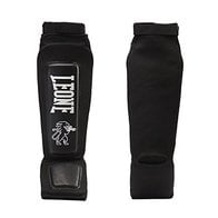 Leone Defender PT120 - Espinilleras de calcetín Negro Talla:XL