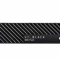WD_BLACK SN750 de 2 TB - SSD NVMe interno para gaming con disipador térmico, PCIe Gen 3, hasta 3470 MB/s
