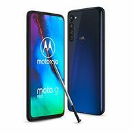 Motorola Moto G Pro - Smartphone de 6,4'' con lápiz táctil incorporado, 4GB RAM + 128GB de ROM, dual Sim - Color Mystic Indigo [Versión ES/PT]