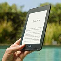 Kindle Paperwhite - Resistente al agua, pantalla de alta resolución de 6'', 8 GB, con publicidad