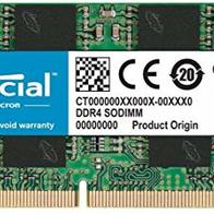 Crucial RAM CT8G4SFRA266 8 GB DDR4 2666 MHz CL19 Memoria Portátil