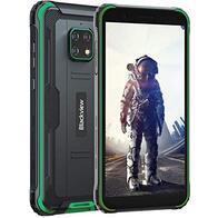 Móvil Resistente 4G, Blackview BV4900 Android 10 Impermeable Smartphone IP68, 5.7'' HD+, Batería 5580mAh, 32GB+3GB (SD 128GB), 8MP+5MP, Teléfono Robusto, Dual SIM,GPS,NFC,OTG- Verde