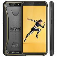 【Blackview Oficial】 BV5500 (2020) Móvil Libre Resistente IP68 Impermeable Robusto de 5.5'' (13.9cm, 18:9), 2GB/16GB, Android 8.1, Doble Cámara 8MP+5MP, 4400mAh Batería SIM Doble Smartphone- Amarillo