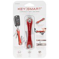 KeySmart - Llavero y Organizador de Llaves Compacto (hasta 14 Llaves, Roja)