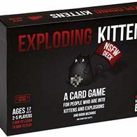 Exploding Kittens LLC- Juego (EKG-NSFW1-1)