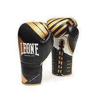 Leone 1947 Fighter Premium - Guantes para Adulto, Unisex, Color Negro