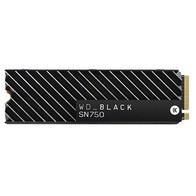 WD Black SN750 NVMe 1TB SSD M.2 PCI Express 3.0 con Disipador Térmico