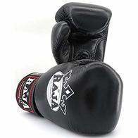 Guantes Raja Boxing Negros Piel