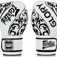 Fairtex Glory - Guantes de Boxeo, 16 oz, White - BGVG2
