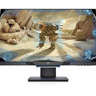 HP 25MX - Monitor (25'', velocidad de 144 Hz, Tecnología AMD FreeSync, iluminación ambiental, 1920 x 1080 a 60 Hz) color negro