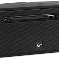 KitSound Ignite Rechargeable Wireless Bluetooth Speaker for iPhone/iPad/Android/Windows Devices - Black