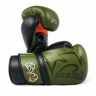 Rival RS80V Impulse - Guantes de boxeo, color verde caqui, color caqui, tamaño 340 g