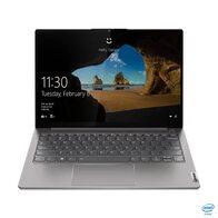Lenovo ThinkBook 13s G2 ITL - Ordenador portátil 13.3'' QXGA (Intel Core i7-1165G7, 16GB RAM, 1TB SSD, Intel Iris Xe Graphics, Windows 10 Pro), Color Gris - Teclado QWERTY Español