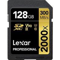 Lexar Professional - Tarjeta de memoria 2000x SDXC de 128 GB